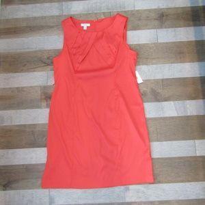 Coral Orange Dress NWT